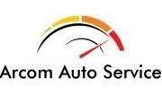 Logo vopsitoria auto arcom bucuresti